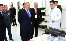 Visit to the Kazakhstan Aselsan Engineering JSC in Astana