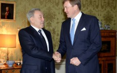 Meeting with King of the Netherlands Willem-Alexander