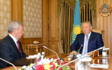 Meeting with Chairman of the National Security Committee Nurtay Abykayev