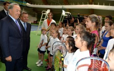 Visit to Tennis Centre