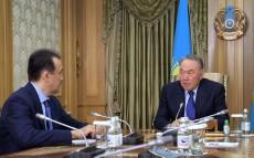 Елбасы Премьер-Министр Кәрім Мәсімовті қабылдады