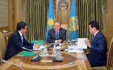 Meeting with Chairman of the National Bank of Kazakhstan Daniyar Akishev