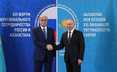 Kassym-Jomart Tokayev held a meeting with Vladimir Putin