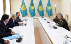 Meeting with Sergey Shoygu, Defence Minister of the Russian Federation