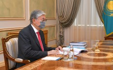 Kassym-Jomart Tokayev receives Minister of Information and Public Development Aida Balayeva