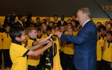 Visiting the base of Kairat Football Club