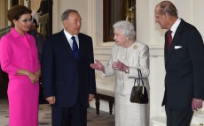 Meeting with Queen Elizabeth II of the United Kingdom of Great Britain and Northern Ireland