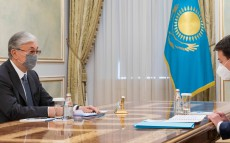 The President receives Minister of Justice Marat Beketayev