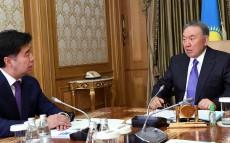 Meeting with Chairman of the Steering Committee of the Regional Hub of Civil Service Alikhan Baimenov