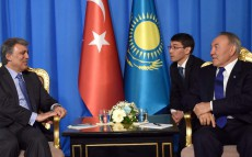 Meeting with Abdullah Gul, the 11th President of Turkey
