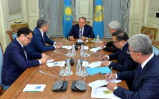 Meeting with Foreign Affairs Minister of the Kyrgyz Republic Erlan Abdyldaev
