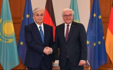 President Kassym-Jomart Tokayev held talks with German Federal President Frank-Walter Steinmeier