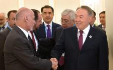 Мемлекет басшысы Ауғанстан Ислам Республикасының Президенті Мохаммад Ашраф Ғанимен кездесті