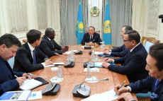Meeting with Lassina Zerbo, Executive Secretary, Comprehensive Nuclear-Test-Ban Treaty Organization (CTBTO)