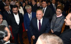 "President Nursultan Nazarbayev attends ""The Way of the Leader. The stars have aligned"" Premiere"