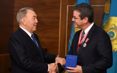 Meeting with Director-General of the World Trade Organization Roberto Azevêdo