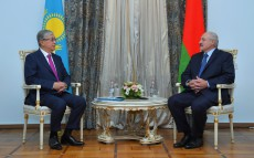 Kassym-Jomart Tokayev met with President of the Republic of Belarus Alexander Lukashenko