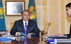 Meeting with leadership of the Foundation of the First President of the Republic of Kazakhstan