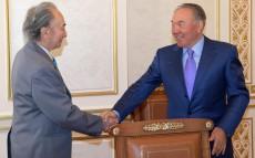 Встреча с общественным деятелем, ветераном Великой Отечественной войны Султаном Джиенбаевым
