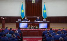 The President held an Enlarged Meeting of the Board of the Ministry of Internal Affairs