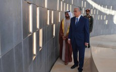 The President of Kazakhstan visited Wahat Al Karama - war memorial and monument in Abu Dhabi