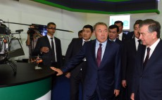Visiting of the exhibition of Kazakhstan's companies