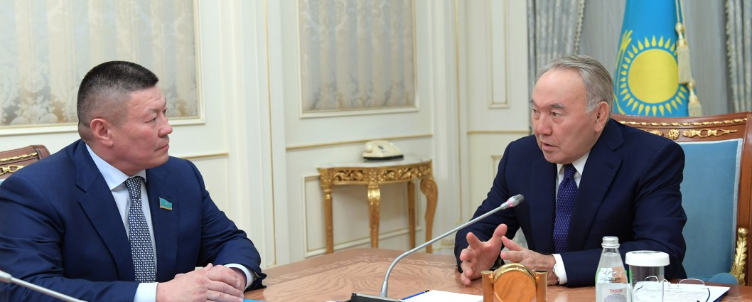 Meeting with Bahytbek Smagul, Parliament's Majilis Deputy