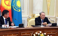 Negotiations with Sooronbay Jeenbekov, President of the Kyrgyz Republic, in the expanded format