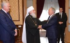 Елбасы Сербия Патриархы Иринеймен кездесті