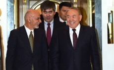 Joint press briefing following the talks between the Presidents of Kazakhstan and Afghanistan