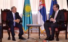 Нұрсұлтан Назарбаев Сербия Республикасының Премьер-Министрі Александр Вучичпен кездесті