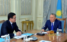Meeting with Chairman of the National Bank Daniyar Akishev
