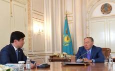 Встреча с акимом города Алматы Бауыржаном Байбек