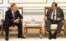 Қазақстан Президенті Пәкістан Ислам Республикасының Президенті Мамнун Хусейнмен кездесті