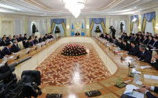 President Nursultan Nazarbayev held a meeting devoted to the results of the work done in the year 2012 and the tasks outlined in the Kazaskhstan-2050 Strategy.