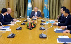 Today President Nursultan Nazarbayev Receives CEO of Eni Paolo Scaroni