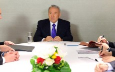President Nursultan Nazarbayev Holds a Meeting with CEO of Airbus Military Domingo Urena-Raso