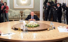 Participation in the expanded session of the Supreme Eurasian Economic Council