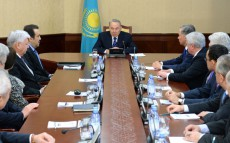 Participation in the meeting of the Bureau of the Majilis of Parliament