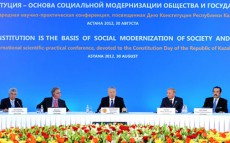 Today President Nursultan Nazarbayev Takes Part in International Scientific Conference devoted to the Constitution Day