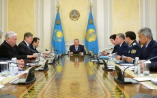 Security Council Meeting chaired by President Nursultan Nazarbayev