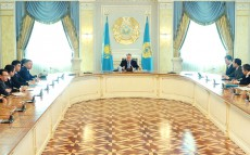 Meeting with Senior Leadership Team of the Presidential Administration