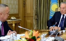 Meeting with Chairman of the Estimation Committee for Control over Execution of the Republican Budget Kozy-Korpesh Dzhanburchin