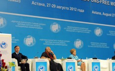 "Today President Nursultan Nazarbayev Takes Part in International Conference Titled ""From a Nuclear Test Ban to a Nuclear Weapon-Free World"""