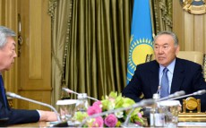 Meeting with Chairman of the National Security Committee Nurtai Abykayev