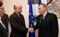 Nursultan Nazarbayev visits French Embassy in Kazakhstan