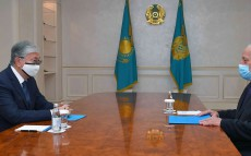 Kassym-Jomart Tokayev receives Murat Zhurinov, President of the National Academy of Sciences
