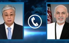 President Kassym-Jomart Tokayev had a telephone conversation with Afghanistan President Ashraf Ghani