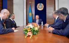 Нұрсұлтан Назарбаев Парламентаралық одақтың төрағасы Сабер Чоудхуримен кездесті