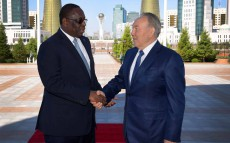 Meeting with President of the Republic of Senegal Macky Sall